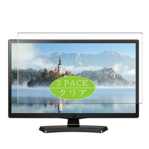 VacFun 3 Piezas Claro Protector de Pantalla, compatible con LG 24LF454B/24LJ4540/24LH4830-PU/24LJ4540-WU/24LJ4840-WU 23.6' LCD TV, Screen Protector Película Protectora (Not Cristal Templado) NewVer