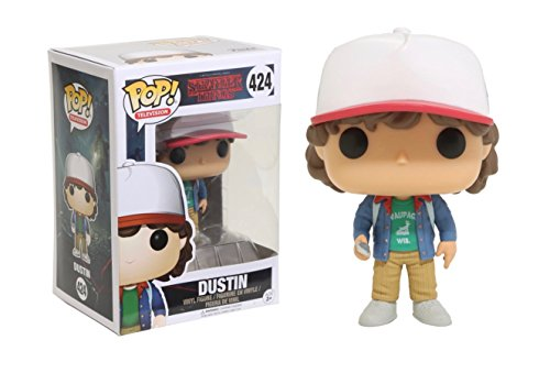 Funko - Pop! Vinilo Colección Stranger Things - Figura Dustin...