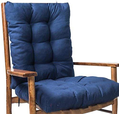 Banco al Aire Libre de Interior del Amortiguador Conjunto, Almohada Sofá con la Silla Mecedora Respaldos Patio Cojines de Asiento reclinable Cojines Amortiguador del sofá for jardín Relax