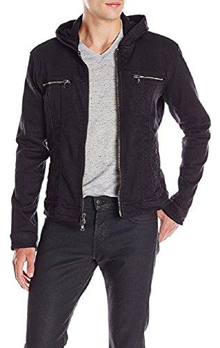 Jean Hooded Jacket Men's