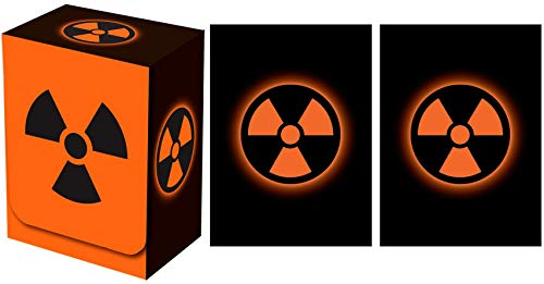 Legion Supplies Absolute Iconic Orange Radiation Deck Box with 100 Sleeves