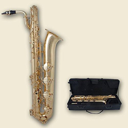 Eastman® EBS-600 Saxofón barítono en Eb (tecla A baja) E plana Mib Mibemol Saxofón Baritón latón lacado