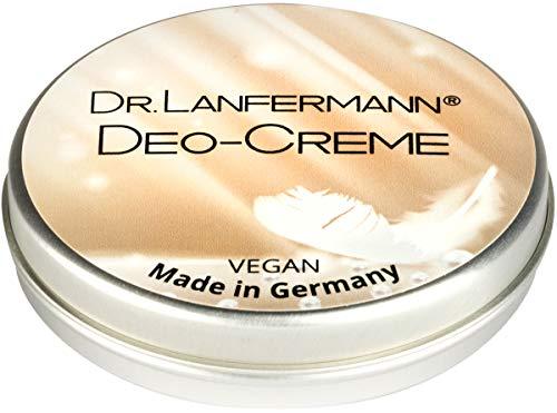Dr. Lanfermann Deo Creme vegan 30g - Erfrischende Deocreme ohne Aluminium mit lang anhaltender Wirkung, für Damen und Herren