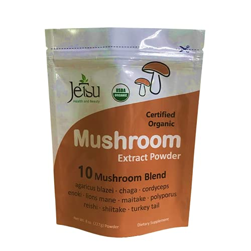 JETSU 10 Mushroom Blend Extract Powder