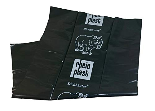 Müllsack Dickhäuter 120µm PE 10 Stück Plastiksack Sack Säcke Abfallsack Abfallbeutel Beutel