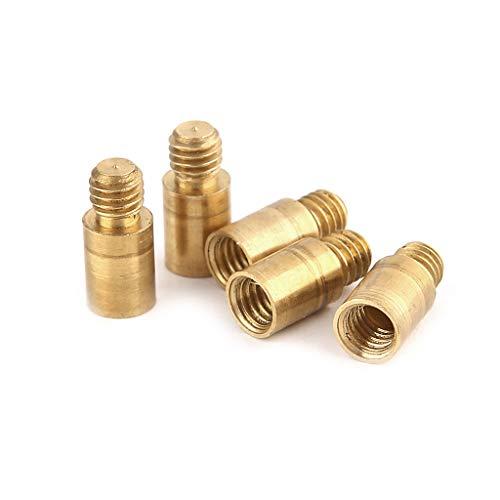 zrshygs 5 stücke 1,5g Dart Gewicht Hinzufügen Akzentwerkzeug Kupfer 2BA Gewinde Dart Zubehör - Gold