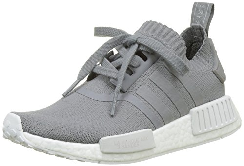 adidas Damen NMD_R1 W PK Gymnastikschuhe, Grau (Grey Three F17/grey Three F17/ftwr White), 36 2/3 EU