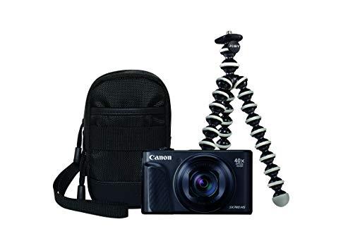 Canon PowerShot SX730 HS Travel Kit, Nero