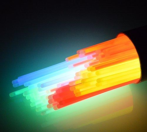 HCL Handycop® 200 er Set - Knicklichter in 6 bunten Farben - inkl. 100 Verbinder
