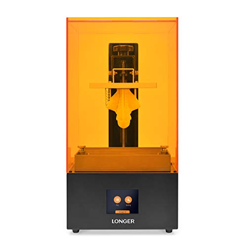 LGT Longer Orange 30 SLA 3D Printer, 2K Precision Resin LCD 3D Printer with Upgraded Parallel UV LED Light, Fast Cooling System & Resume Printing, Large Build Size 4.72 x 2.68x 6.69 Inches, Metal