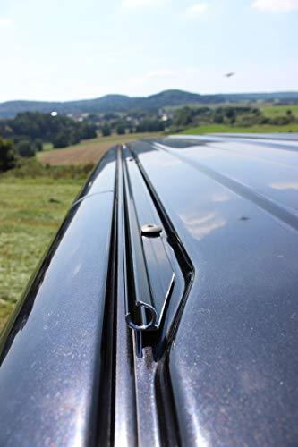 streetandtrack Kederschiene Kederleiste für VW Bus T5+T6 k.Radst. Beifahrer Sonnensegel Vorzelt