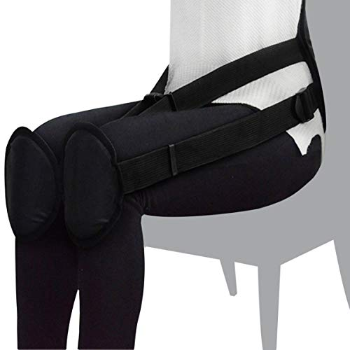 Exceart Portable Back Support Belt Pad Correcting Brace Ergonomic Waist Protector for Better Sitting Posture