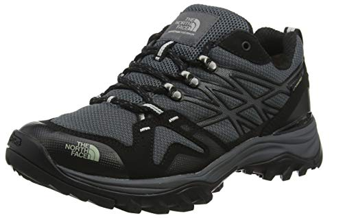 The North Face Mens Hedgehog Fastpack GTX Waterproof Outdoors Trainers - Gray/Black - 9