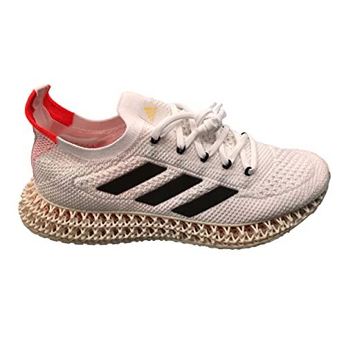 adidas 4DFWD, Zapatillas para Correr Hombre, FTWR White Core Black Solar Red, 44 2/3 EU
