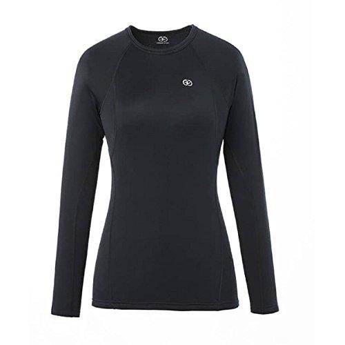 Damart Sport T- Shirt Easy Body 4 Femme, Noir, FR (Taille Fabricant : XL)