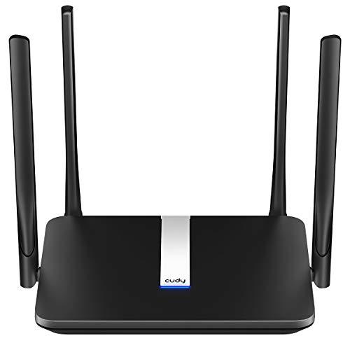 Cudy LT500 Router 4G LTE, Wi-Fi Dual-Band AC1200,4G LTE cat4, 4 Porte RJ45, 4 antenne 5 dBi, DDNS, FDD And TDD, VPN, SIM Collega e USA, Alternativa per ADSL