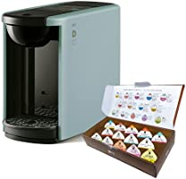 【Amazon.co.jp限定】UCC ドリップポッド カプセル式コーヒーマシン アッシュブルー お試しカプセル14個付き
