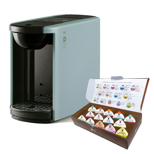 Amazon.co.jp限定UCC ドリップポッド カプセル式コーヒーマシン EC DP03アッシュブルー(A)Amazon限定カラー + お試しカプセル14個