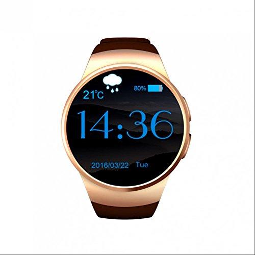 Preisvergleich Produktbild SmartUhr herzfrequenz Fitness Armband Schrittzähler Smartwatch Armbanduhr Uhr Mit SIM Handyuhr