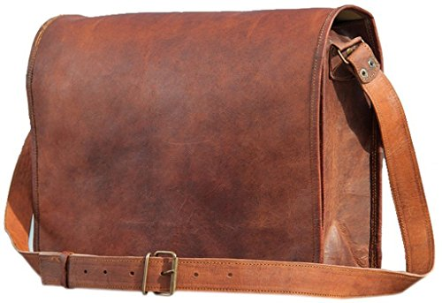 leatherBagsworl United Leather Messenger Bag for Men