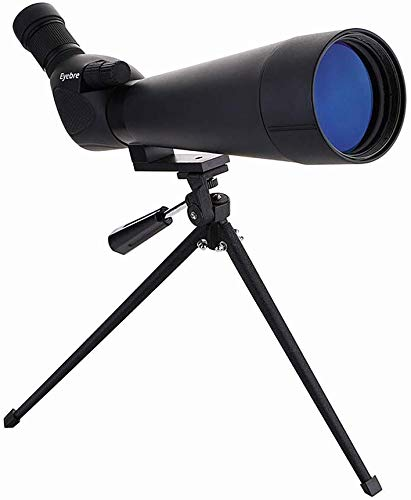 GJJSZ Telescopio de Campo Monocular 20-60x60 Zoom HD Película Azul Trípode Impermeable Lleno de nitrógeno Ver Telescopio de Aves para Uso en Exteriores Portátil para Uso en Exteriores Multifunción
