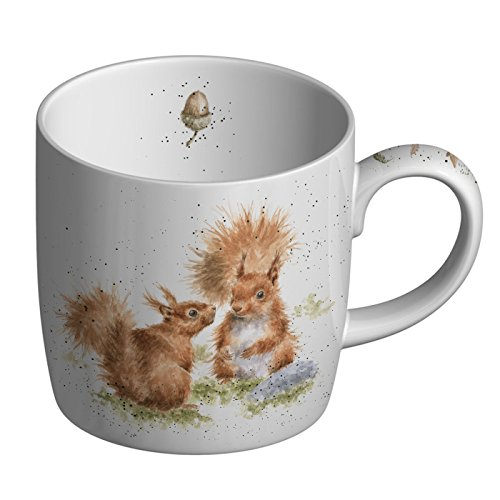 "Portmeirion Home & Gifts Tasse aus feinem Knochenporzellan, Motiv ""Between Friends, Mehrfarbig, 8 x 12 x 8 cm"