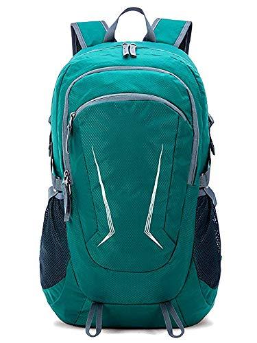 Jessie Kidden Large 45L Hiking Backpack - Packable Lightweight Travel Backpack Daypack,Green