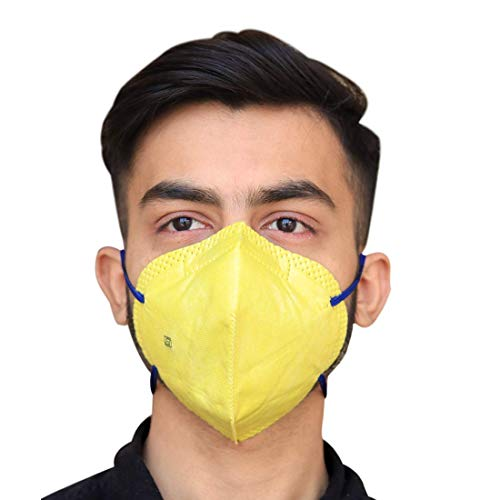 SwissPlus World most Trusted FFP2 Anti Pollution mask for Men and Women daily use color will be send as per the availability(Pack of 2)