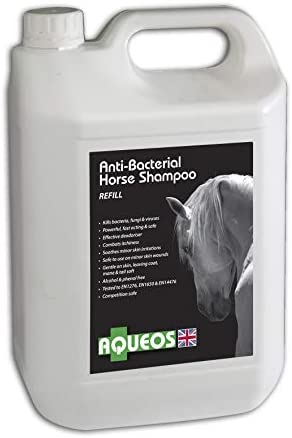 Aqueos Horse Shampoo   Anti-Bacterial / Anti-Fungal / Anti-Viral / Anti-Itch   1 Litre Soothes, Relieves Itching, Skin Conditions Gentle on Skin