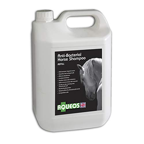 Aqueos Horse Anti-Microbial Shampoo, 5Litre