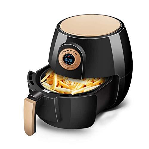 Air Fryer 2.6L Digital Air Fryer 1400W oven oven snelkookpan Oilless Cook anti-aanbaklaag vermogen Air Fryer gemakkelijk te demonteren en te reinigen