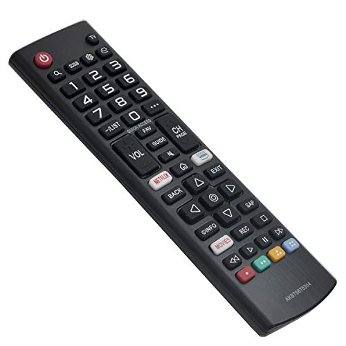 AKB75675304 Replacement Remote Control fit for LG Smart TV 43LM5700PUA 65UM73000PUA 32LM6350PUA 43UM6900PUA 49UM6900PUA 55UM6900PUA 65UM6900PUA 43UM7100PUA 49UM7100PUA 60UM7100DUA 70UM7170DUA 55UM69