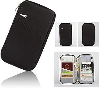 Rubik Multifunction Travel Passport holder, Tickets, Boarding Card, Credit ID Card & Document Organizer Zipper Case Bag, B...