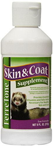 8 In 1 Pet Products Ferretone Skin & Coat Supplement, 8-Ounce