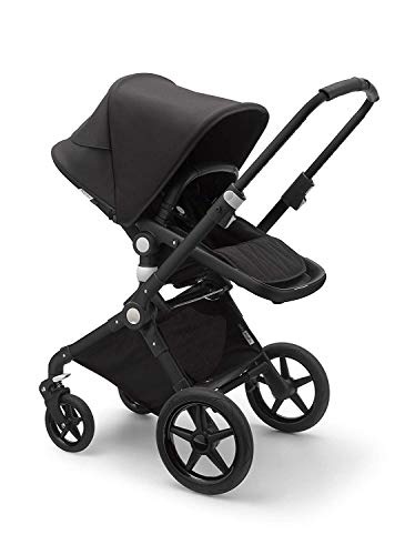 Bugaboo Lynx - The Lightest Full-Size Baby Stroller - All-Terrain with an Effortless Push and One-Handed Steering - Compatible with Bugaboo Turtle One by Nuna Car Seat - Black