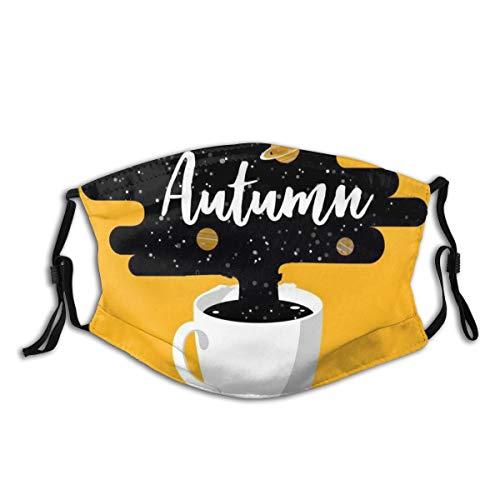 Popsastaresa Tasse frischen Kaffee,Staubwaschbarer wiederverwendbarer Filter und wiederverwendbarer Mundschutz gesicht