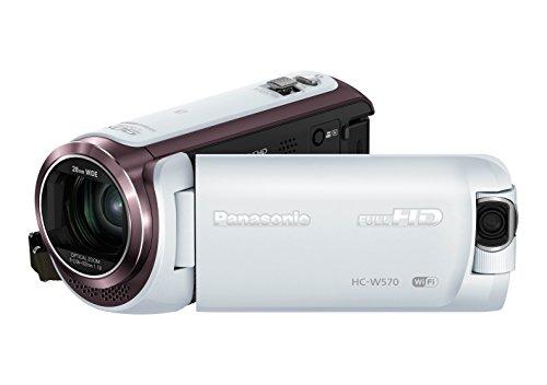 Panasonic HC-W570 Videocamera, Bianco