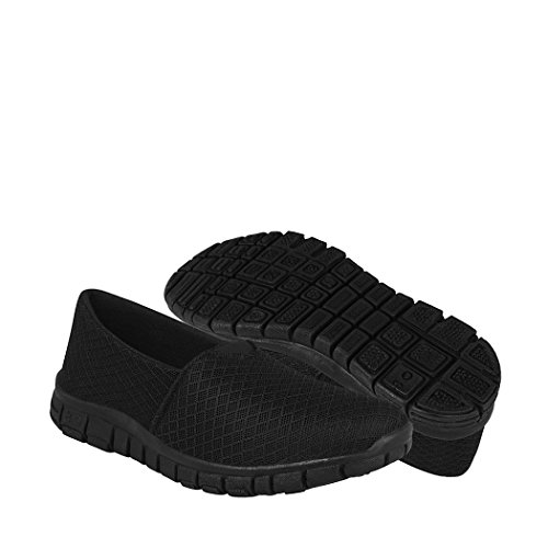 STYLO Zapatos Dama Casuales 805 23-26 Textil Negro 25
