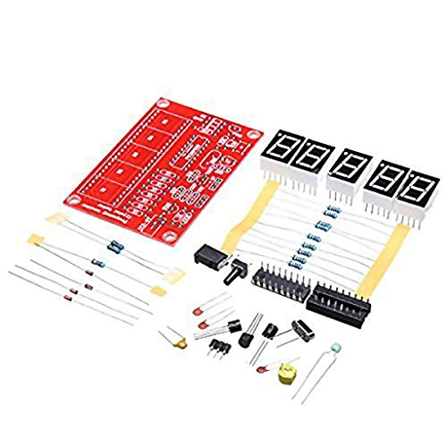 ARCELI Online DIY Digital LED 1Hz-50 MHz Quarzoszillator Frequenzzähler Meter Tester Kit Tool