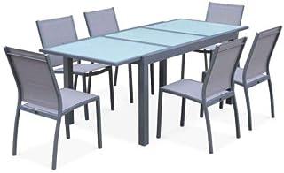 Amazon.fr : table verre rallonge