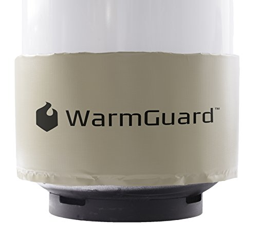 Read About WarmGuard WG420 Insulated Band Style Gas Cylinder Warmer - Propane Heater, Fits 420 lb Ga...