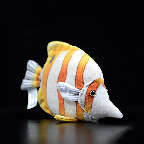 Spuik Rocket lindo peces tropicales muñecos peluche