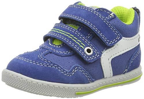Lurchi Baby Jungen BRUCY Sneaker, Blau (Royal Apple 22), 21 EU