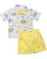 Disney Baby Boys 2 Piece Tigger Shortall Set