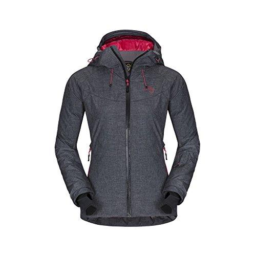 zajo Lizard Veste Primaloft veste d'extérieur pour femme Fonction Veste pour femme XL noir/rouge