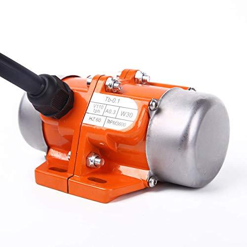 BIZOEPRO Concrete Vibrator Vibration Motor 30W Mini Vibrating