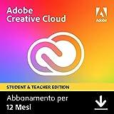 Adobe Creative Cloud | Student & Teacher | 1 Anno | PC/Mac |...