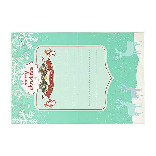 Carte de noël carte de voeux de Noël dessin animé bricolage 5D diamant peinture cadeau fait à la main festivalMaison et jardinBureau et papeterie liquidation vente