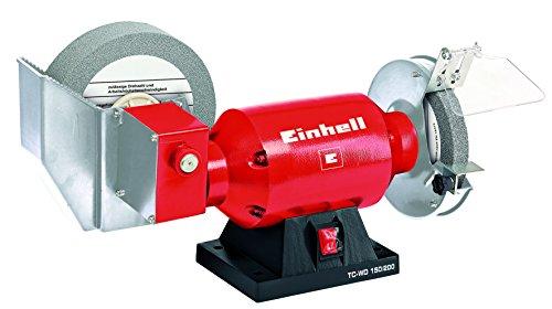 Einhell TC-WD 150/200 Smerigliatrice Combinata Da Banco, Rosso