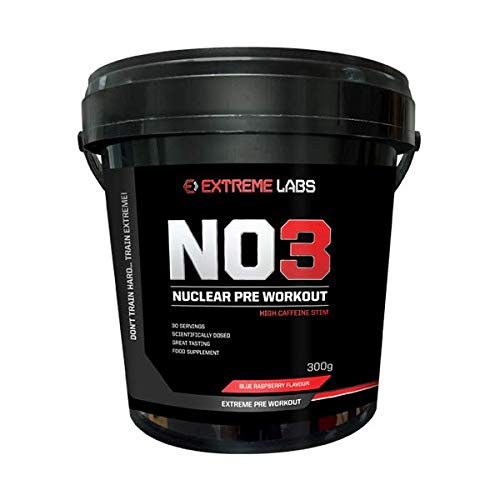 Extreme Labs NO3 Nuclear Overdrive Pre Workout (Green Apple)